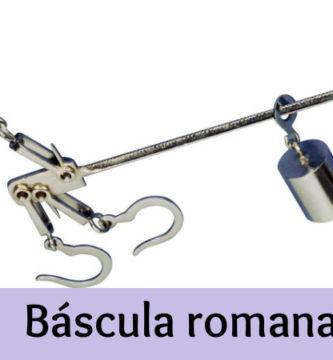 Báscula romana